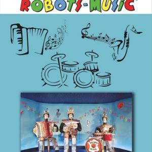 """ Robots Music "" Brochure 22 pages A4 - 210 mm x 297 mm 130 g/m2"